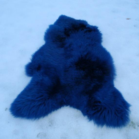 Schapenvacht Kobaltblauw