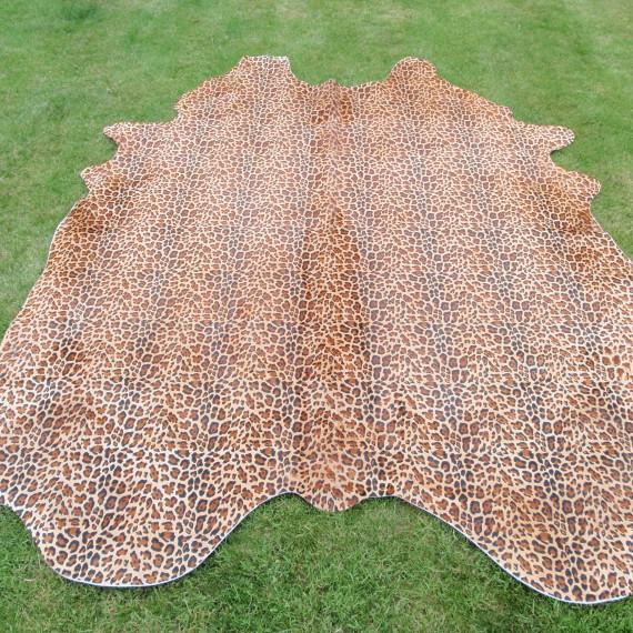 www.Koeien-Huid.nl Leopard koeienhuid